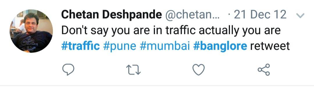 17. Bangalore Traffic Tweets