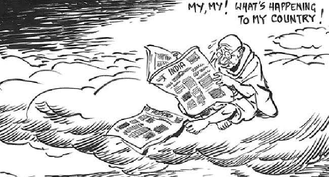 18. Cartoonist R.K Laxman
