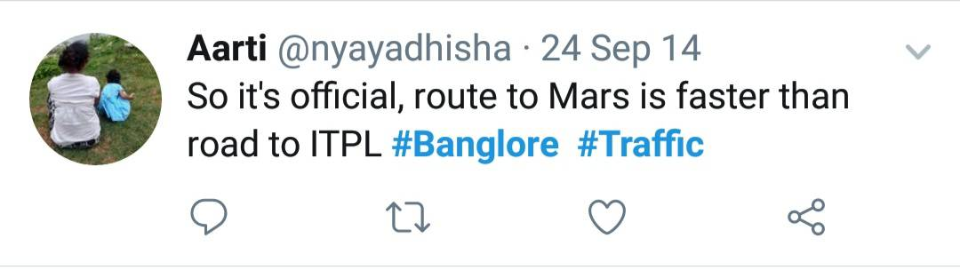 19. Bangalore Traffic Tweets
