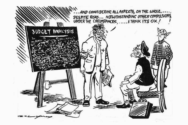 19. Cartoonist R.K Laxman