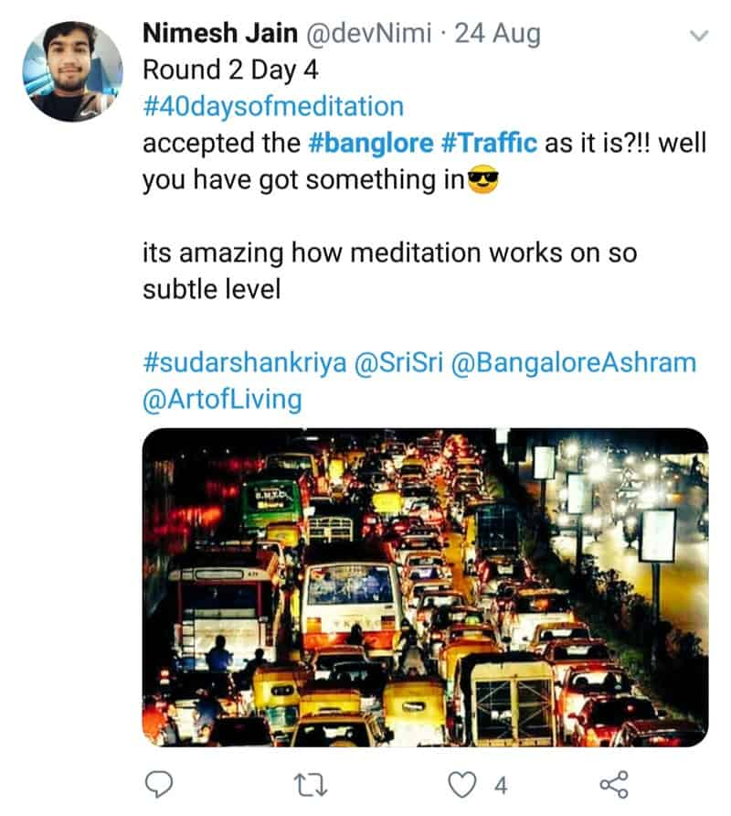 22. Bangalore Traffic Tweets