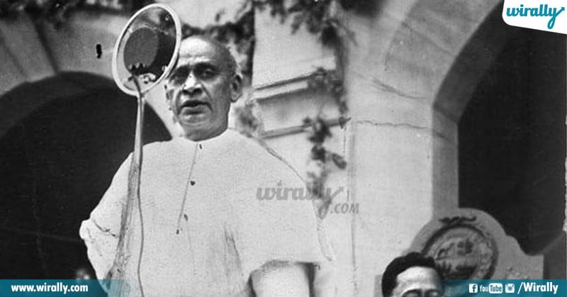Statesman And Iron Man Of India