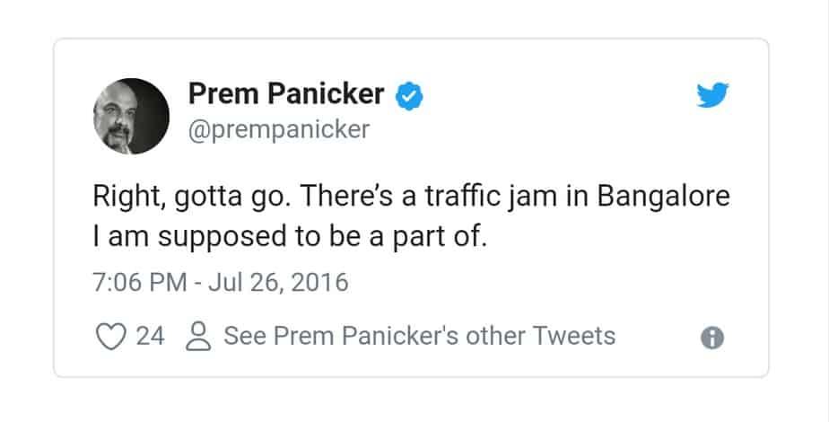 3.Bangalore Traffic Tweets