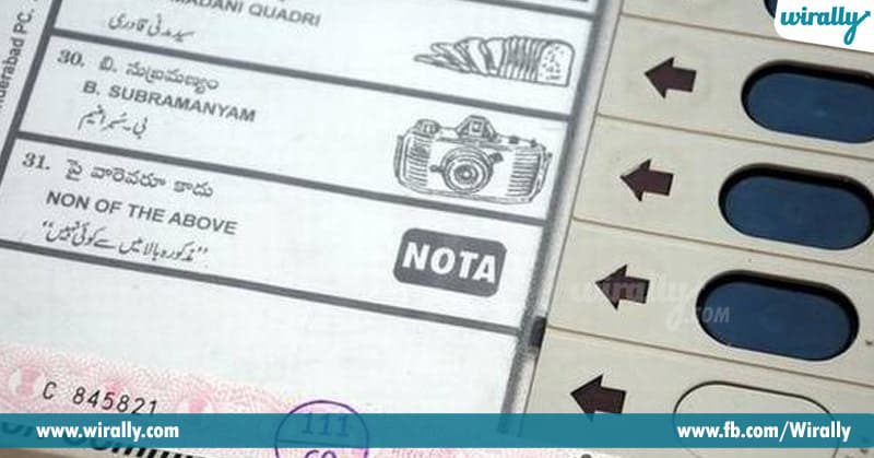 What is NOTA