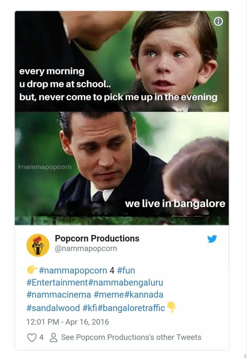 4. Bangalore Traffic Tweets