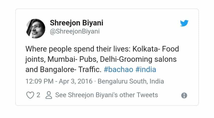5. Bangalore Traffic Tweets