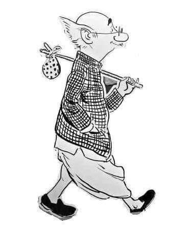 7. Cartoonist R.K Laxman