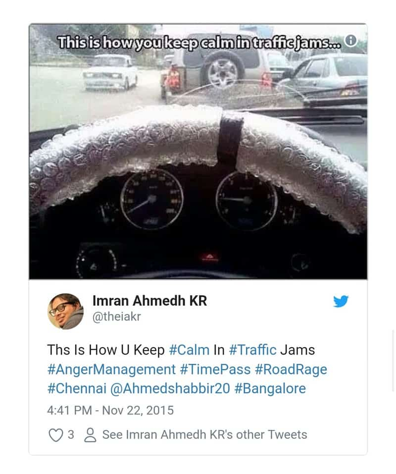 9. Bangalore Traffic Tweets