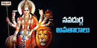 Avatars Of Goddess Durga Matha