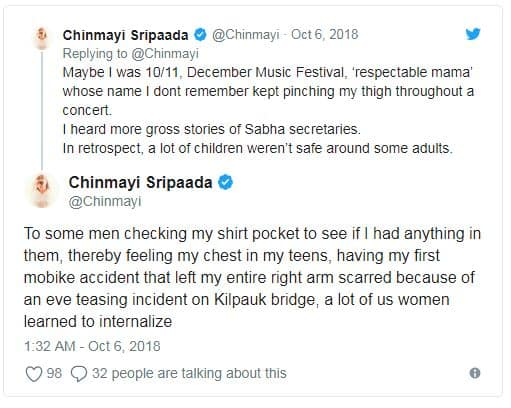 Singer Chinmayi About Harassment On Her2