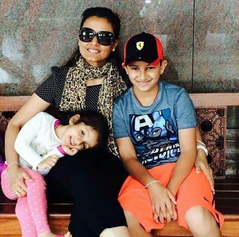 mahesh family 10