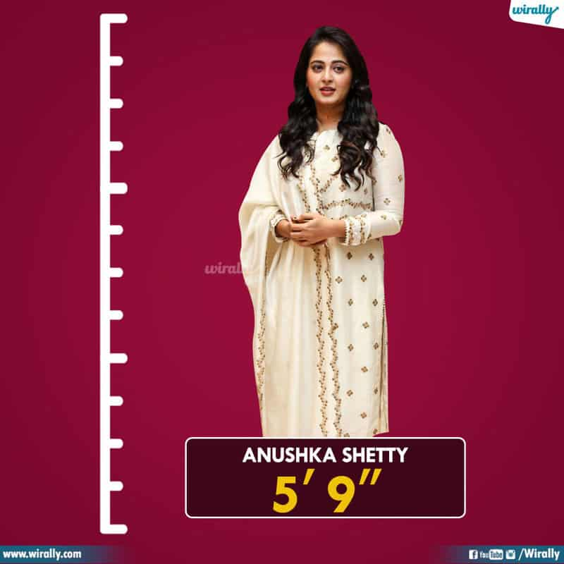 Tollywood Heroines And Their Heights