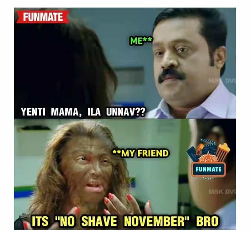 10No shave November