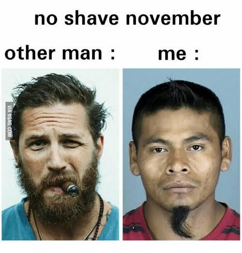 12No shave November