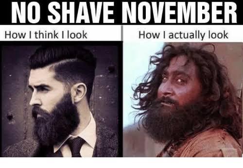 14No shave November