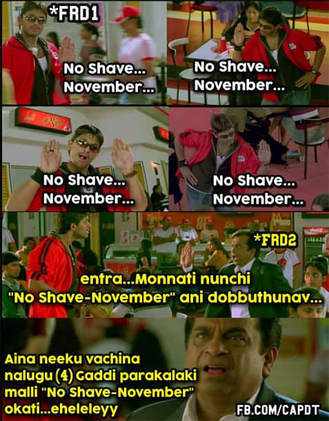 1No shave November