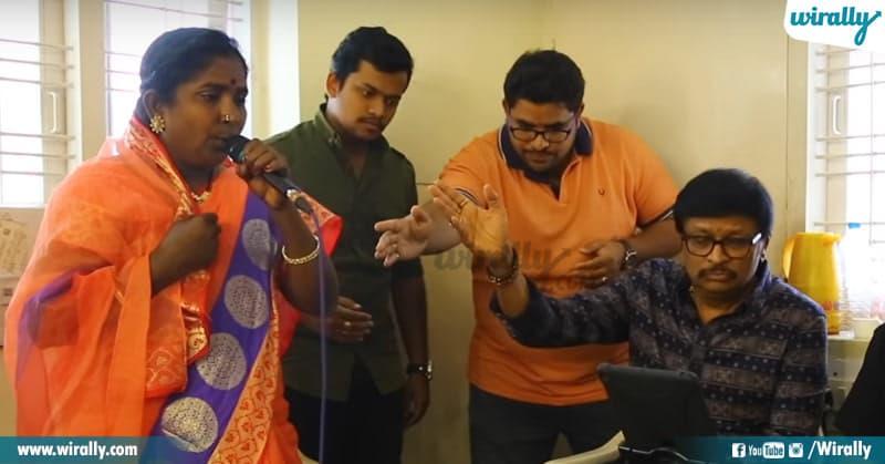 Singer Baby Meets Chiranjeevi