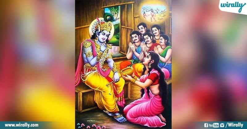 Sri Krishna Said To Dharmaraj