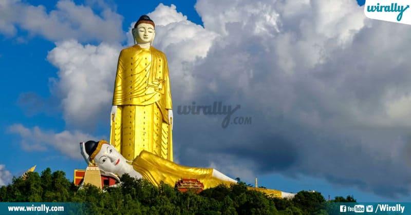 3 - Laykyun Sekkya Buddha Statue