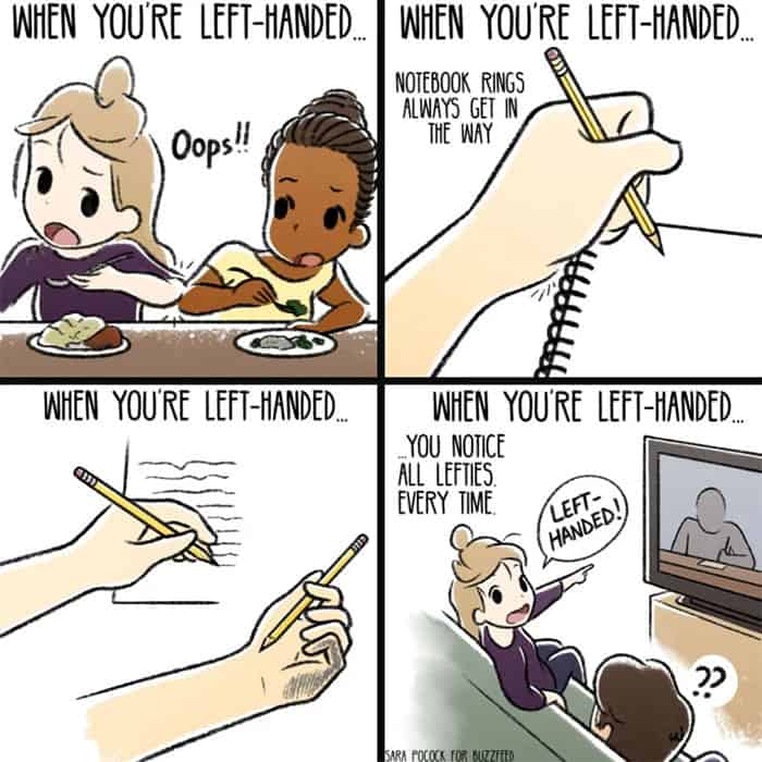 Left Hander Myths