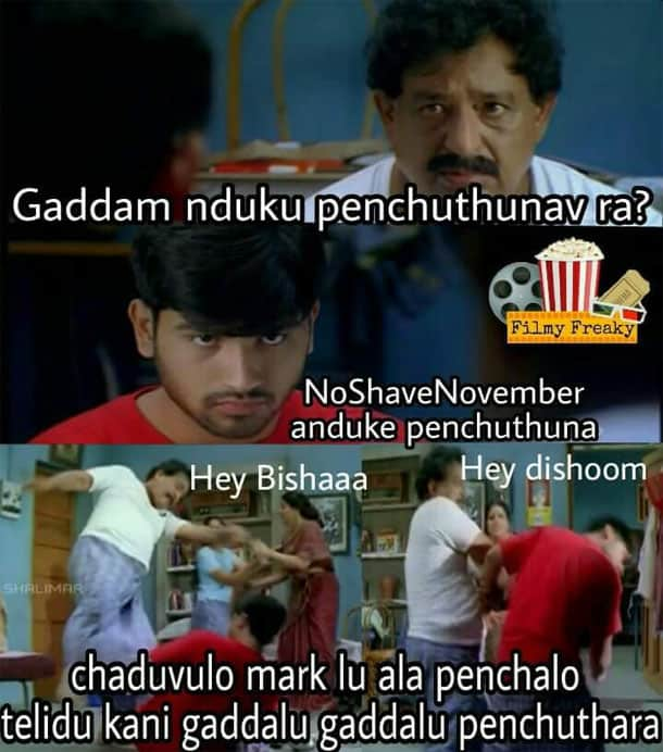 4No shave November
