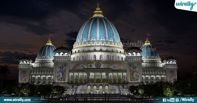 Lord krishna Temple At Mayapur