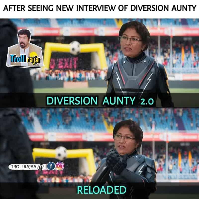 Diversion Aunty 2.0