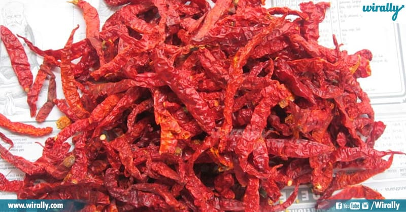 Chillies In India