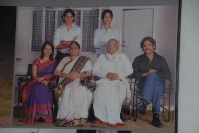 Naga Chaitanya With Family