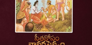 Lord Rama Sent Vanarasena