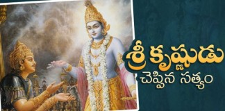 Sri Krishna Said To Dharmaraj