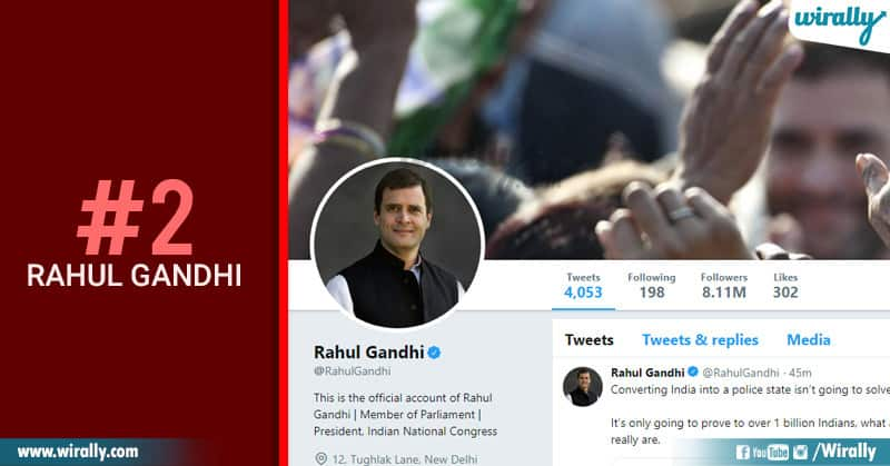 2-Rahul gandhi
