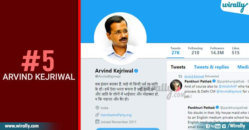 5-Arvind Kejriwal