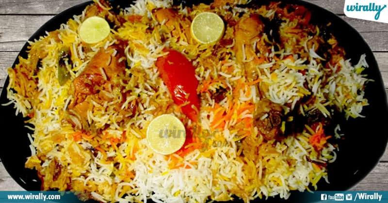 6-Sindhi biryani