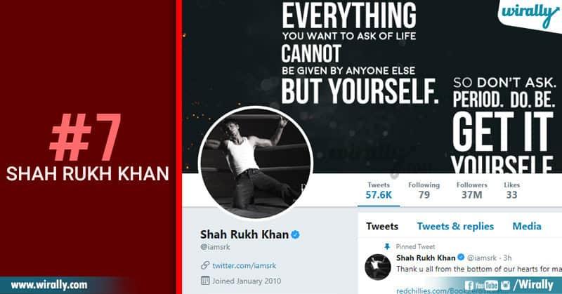 7-Shah rukh khan