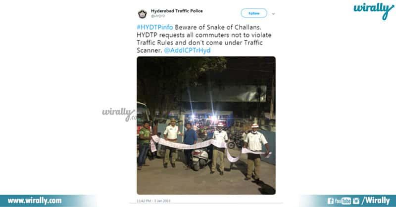 1 - hyderabad traffice police