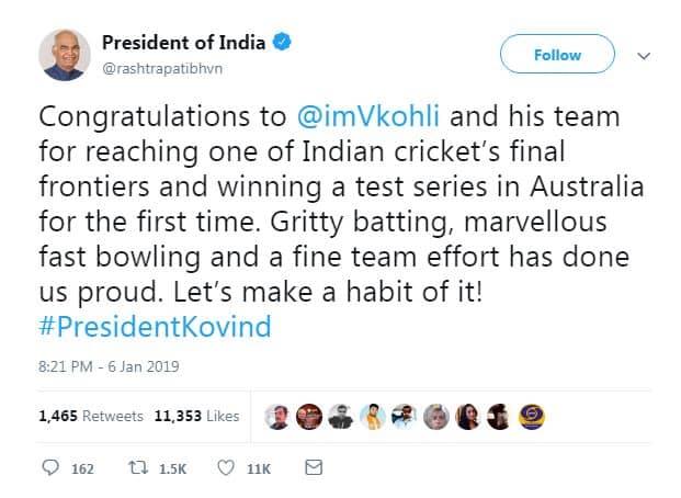 1. ind vs aus Cricket