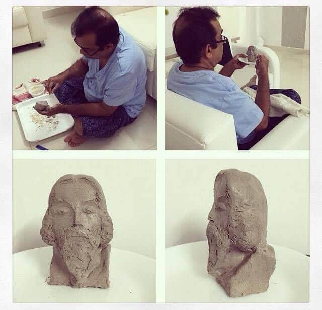 10. Clay Art in leisure times