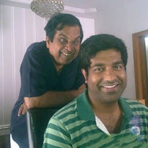 19. with vennela kishore during Jaffa shoot