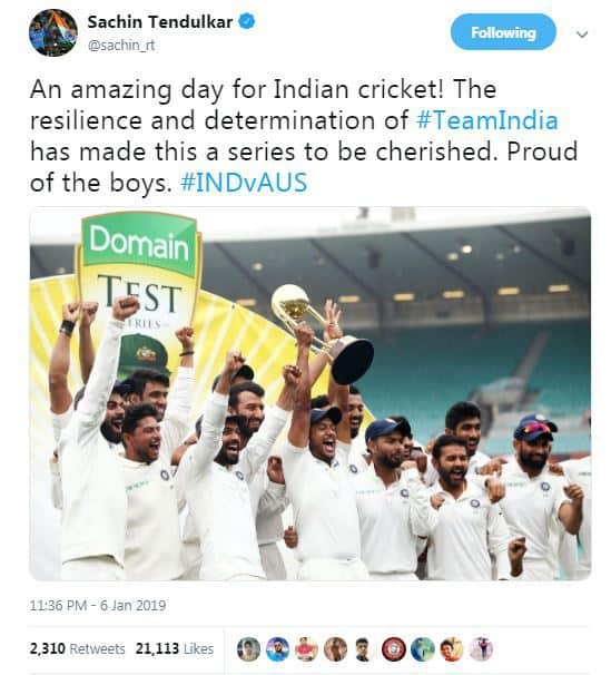 Indian Vs Australia Cricket