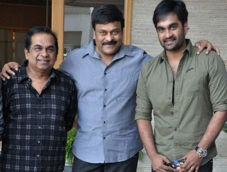 20. with Chiru and his Goutham