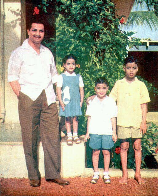 25. NTR with his childrens