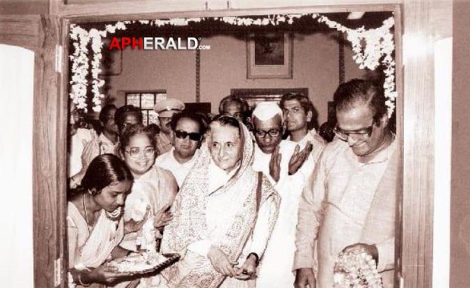 26. NTR with Indira Gandhi
