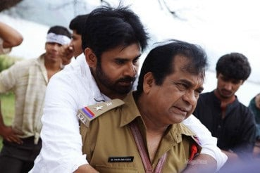 26. with Pawan Kalyan on Panjaa Sets