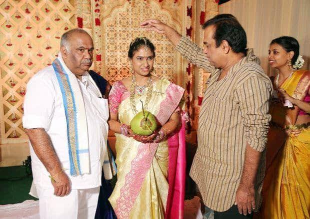 27. At BVSN Prasad daughter's wedding