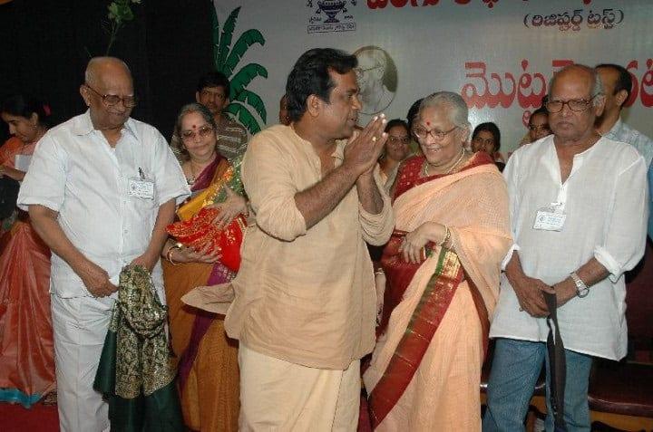 29. With director duo Bapu and Ramana