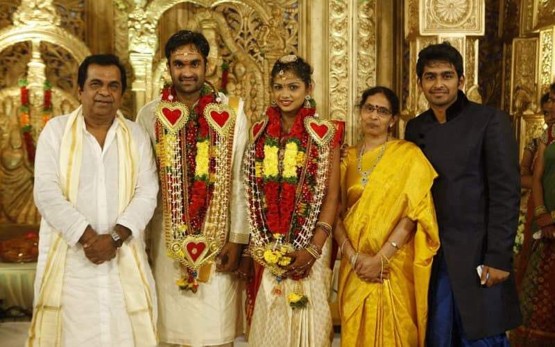 3. with family in Goutham's wedding