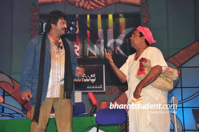 31. Stage performance with Mohan Babu