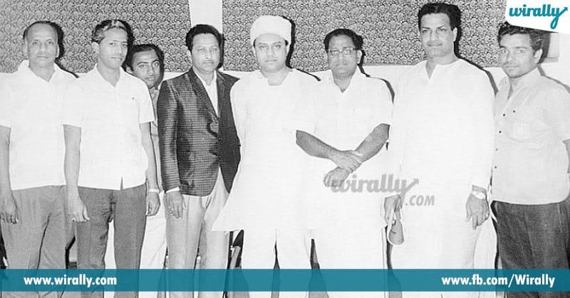 5. NTR with Kathi Kaantharao,Jaggayya and Ghantasala