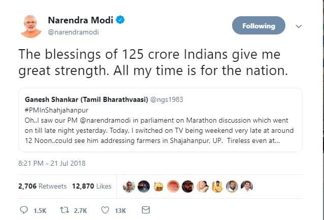 6. Modi strength